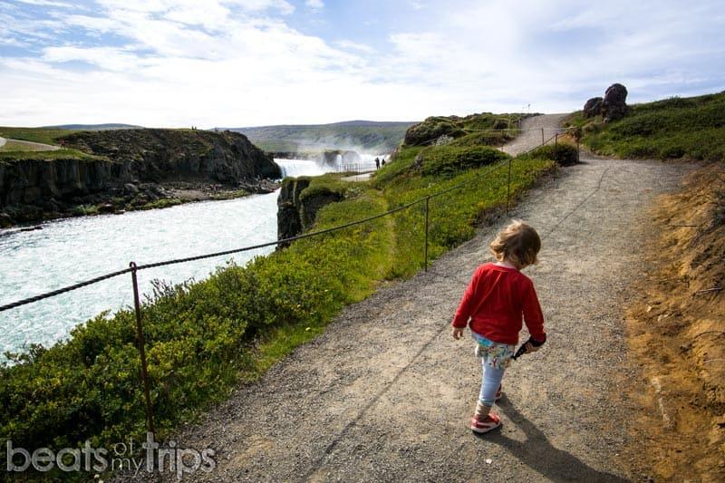 ver godafoss cascada dioses Islandia