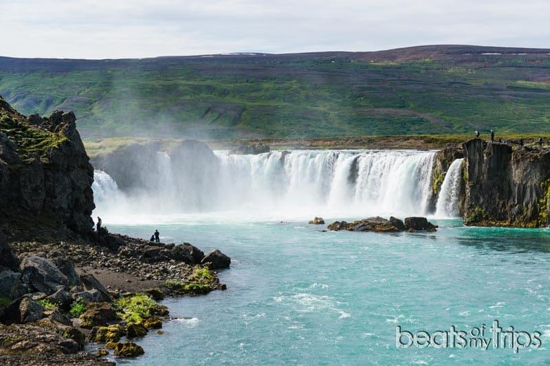 Goðafoss Cascada de los dioses Islandia
